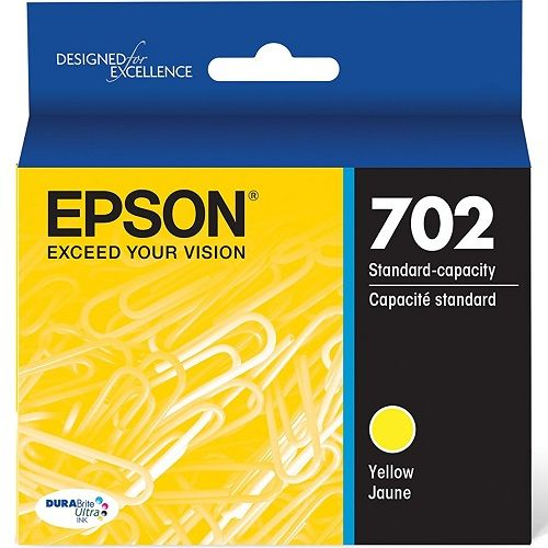 Epson 702 Yellow (Genuine) title=