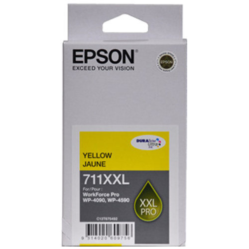 Epson 711XXL Yellow Extra High Yield (C13T675492) (Genuine) title=