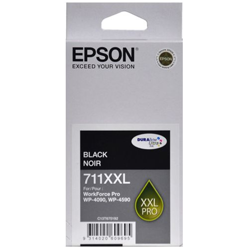 Epson 711XXL Black Extra High Yield (C13T675192) (Genuine) title=