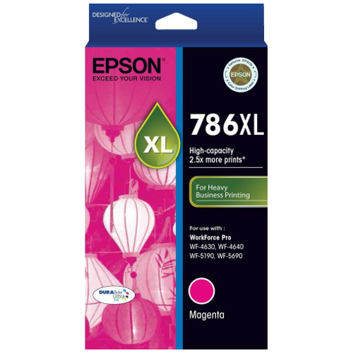 Epson 786XL Magenta High Yield (C13T787392) (Genuine) title=