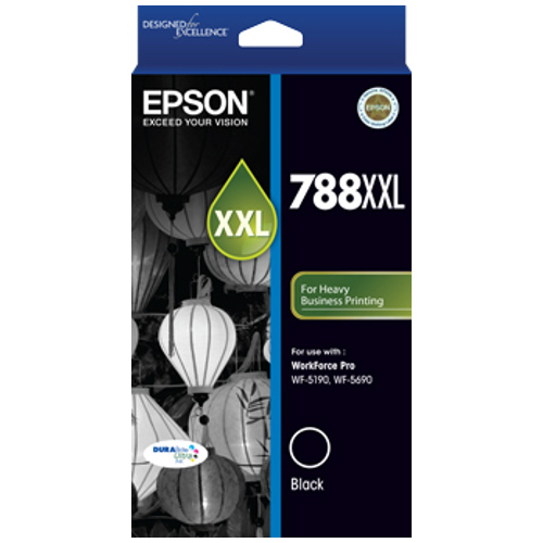 Epson 788XXL Black Extra High Yield (C13T788192) (Genuine) title=