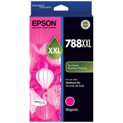 Epson 788XXL Magenta Extra High Yield (C13T788392) (Genuine) title=