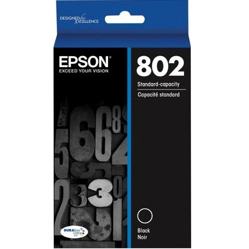 Epson 802 Black (Genuine) title=
