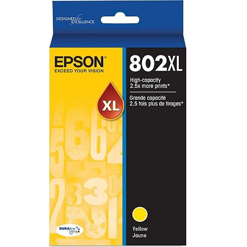 Epson 802XL Yellow High Yield (Genuine) title=