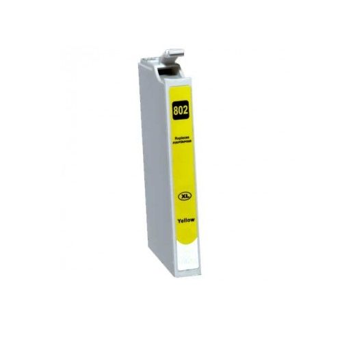 Compatible 802XL Yellow High Yield title=