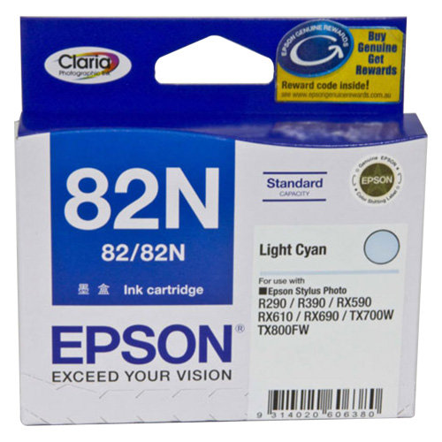 Epson 82N Light Cyan (T1125) (Genuine)
