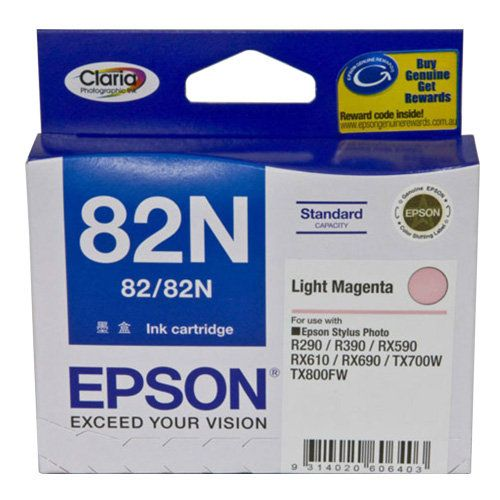 Epson 82N Light Magenta (T1126) (Genuine) title=