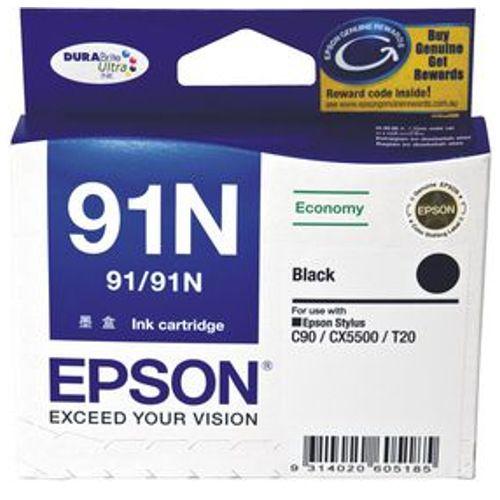 Epson 91N Black Ink Cartridge Genuine T1071