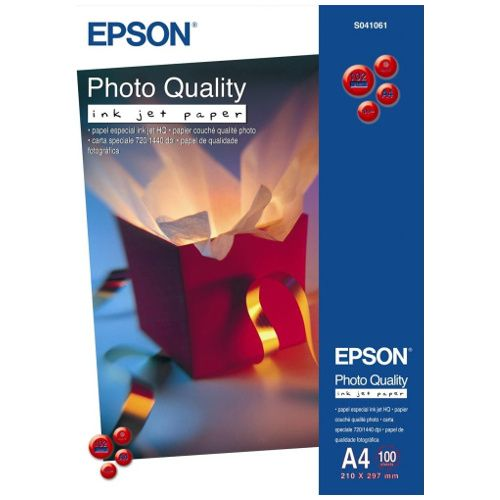Epson S041061 A4 Photo Quality Paper title=