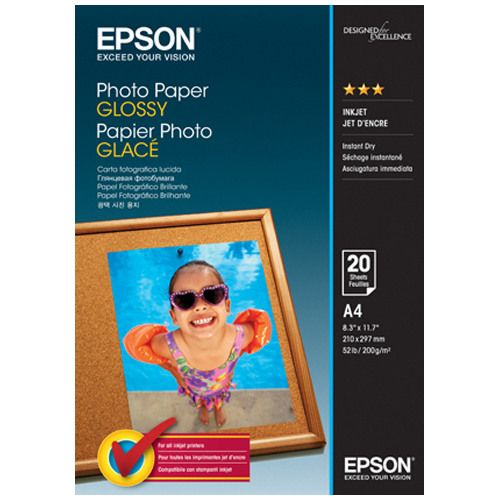 Epson S042538 A4 Glossy Photo Paper title=