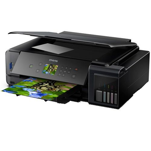 Epson EcoTank Expression Premium ET-7750 Multifunction Colour InkJet Wireless Printer + Duplex title=