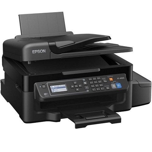 Epson EcoTank Workforce ET-4500 Multifunction Colour InkJet Wireless Printer title=