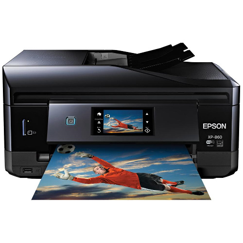 Epson Expression Photo XP-860 Multi Function Colour InkJet Wireless Printer + Duplex title=