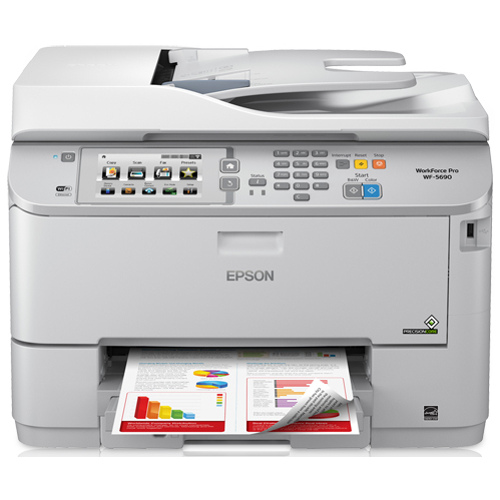 Epson Workforce Pro WF-5690 Printer title=
