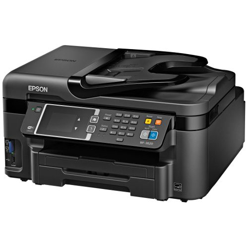 Epson Workforce WF-3620 Multi Function Colour InkJet Wireless Printer + Duplex title=