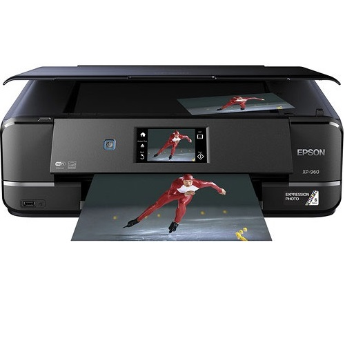 Epson Expression Photo XP-960 Multi Function Colour InkJet Wireless Printer + Duplex title=