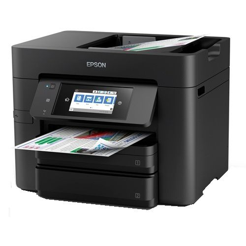 Epson WorkForce Pro WF-4745 Multifunction Colour InkJet Wireless Printer + Duplex title=