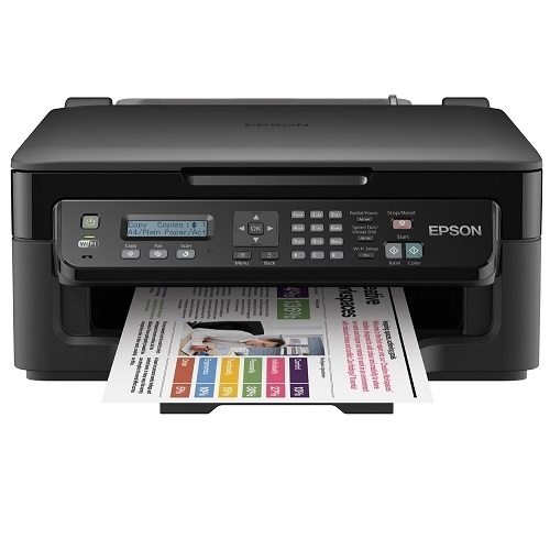 Epson WorkForce WF-2510 Multifunction Colour InkJet Wireless Printer title=