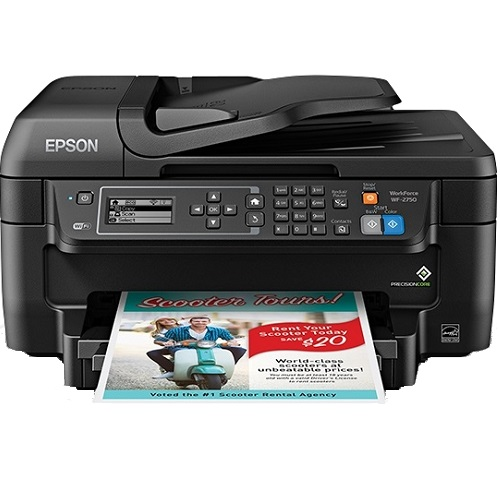 Epson WorkForce WF-2750 Multifunction Colour InkJet Wireless Printer + Duplex title=