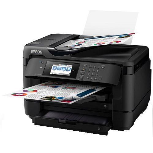 Epson WorkForce WF-7725 Multifunction Colour InkJet Wireless Printer +  Duplex
