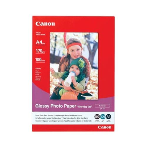 DISCONTINUED - Canon GP-501A4 A4 Glossy Photo Paper title=