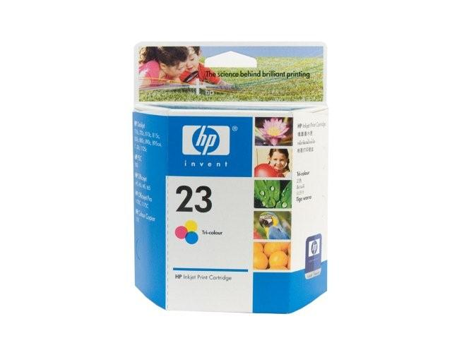 HP 23 Colour Ink Cartridge Genuine (C1823DA)