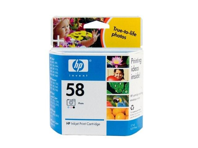 HP 58 Photo Colour Ink Cartridge Genuine (C6658AA)