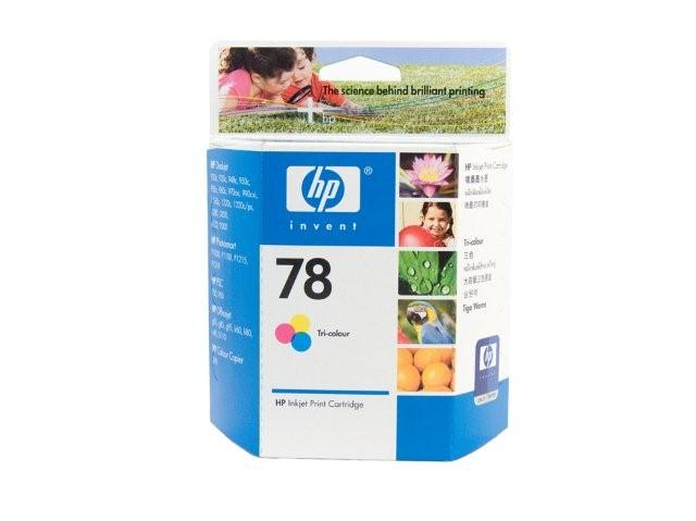 HP 78 Colour Ink Cartridge Genuine (C6578DA)