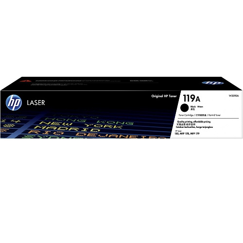 HP 119A Black (W2090A) (Genuine) title=