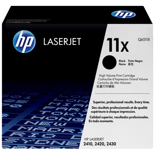 HP 11X Black (Q6511X) (Genuine) title=