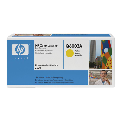 HP 124A Yellow (Q6002A) (Genuine) title=