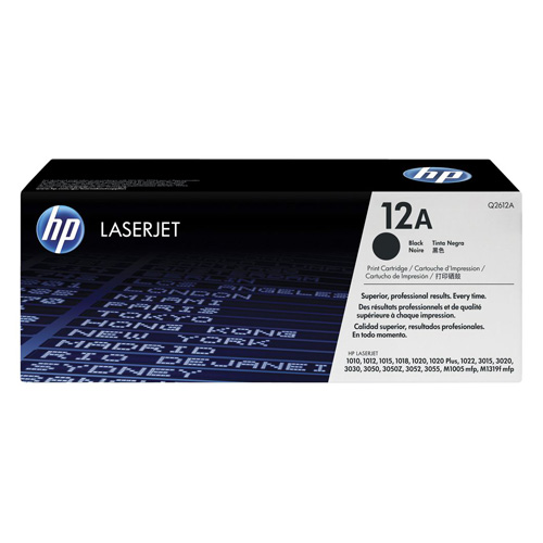 HP 12A Black (Q2612A) (Genuine) title=