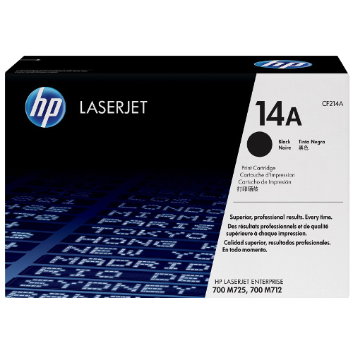 HP 14A Black (CF214A) (Genuine) title=