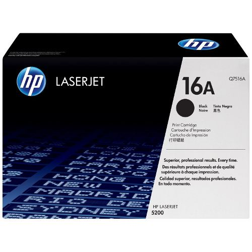 HP 16A Black (Q7516A) (Genuine) title=