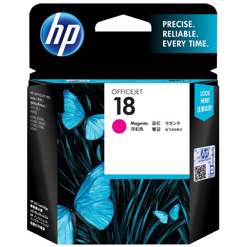 HP 18 Magenta (C4938A) (Genuine) title=