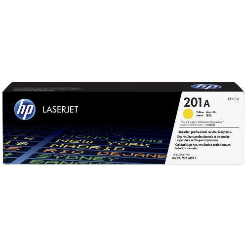 HP 201A Yellow (CF402A) (Genuine) title=