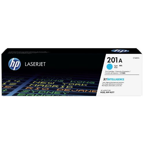 HP 201A Cyan (CF401A) (Genuine) title=