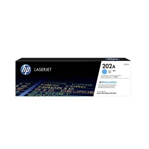 HP 202A Cyan (CF501A) (Genuine) title=
