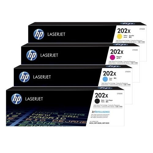 HP 202X 8 Pack Bundle (Genuine) title=