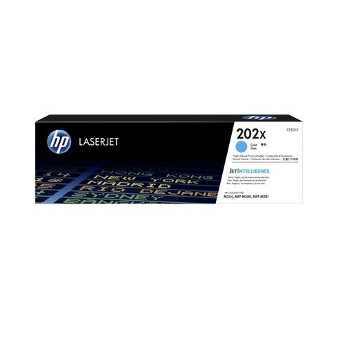 HP 202X Cyan High Yield (CF501X) (Genuine) title=