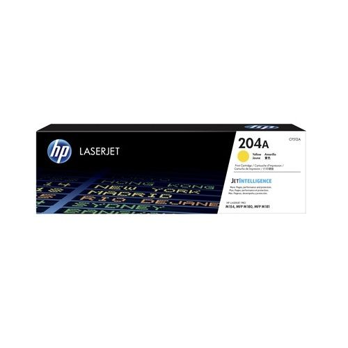 HP 204A Yellow (CF512A) (Genuine) title=