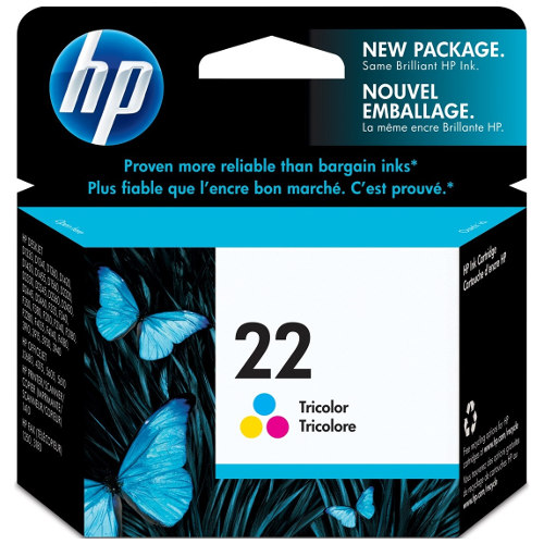 HP 22 Colour (C9352AA) (Genuine) title=