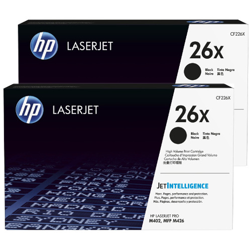 HP 26X 2 Pack Bundle  (CF226X) (Genuine) title=
