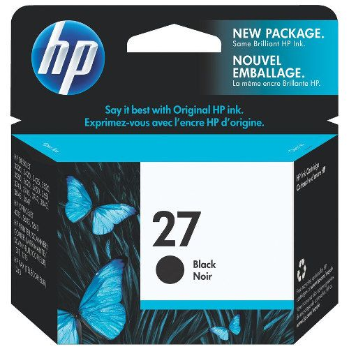 HP 27 Black (C8727AA) (Genuine) title=