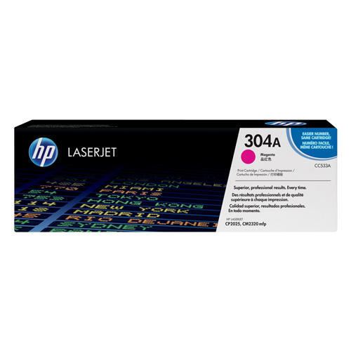 HP 304A Magenta (CC533A) (Genuine) title=