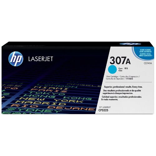 HP 307A Cyan (CE741A) (Genuine) title=