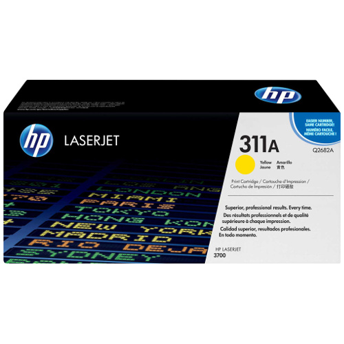 DISCONTINUED - HP 311A Yellow (Q2682A) (Genuine) title=