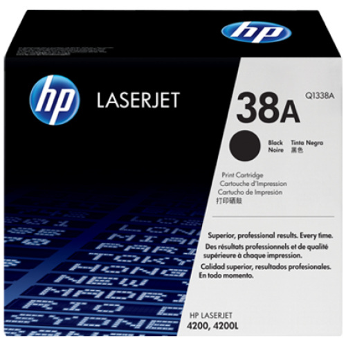 HP 38A Black (Q1338A) (Genuine) title=