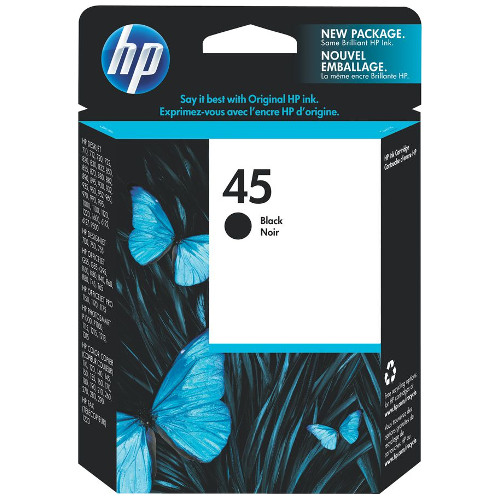 HP 45 Black (51645AA) (Genuine) title=