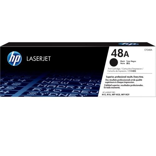 HP 48A Black (CF248A) (Genuine) title=